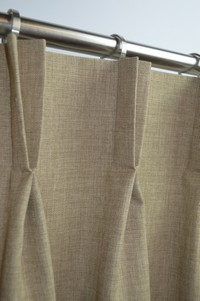 Made To Measure Double Pleat Curtains